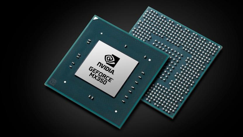 Rendering einer Geforce MX350