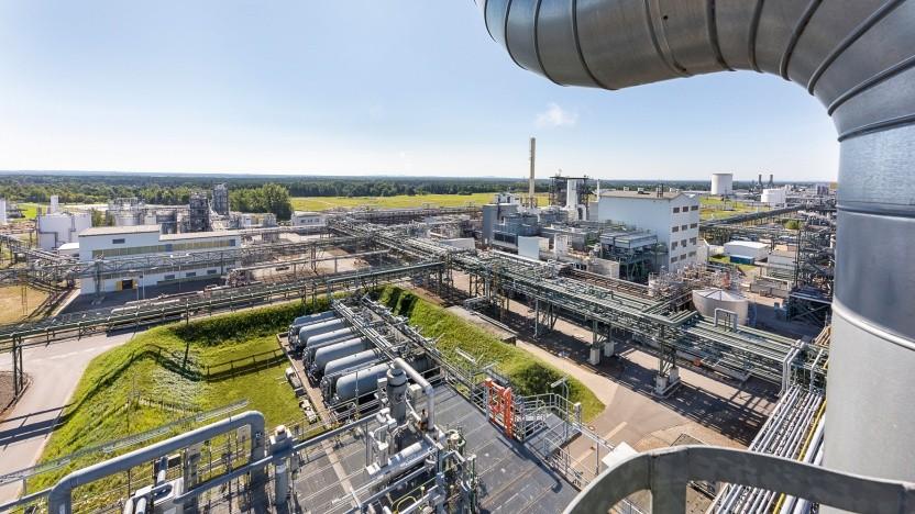 Der BASF-Standort Schwarzheide soll um eine Kathodenfabrik erweitert werden.