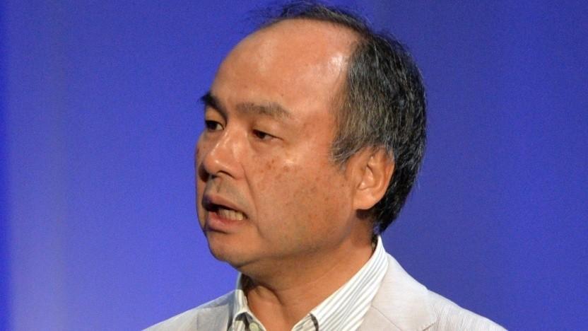 Softbank-Chef Masayoshi Son ist nicht erfreut über die Telekom-Vorstellungen.
