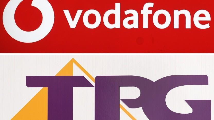 Die Logos der beiden Konzerne