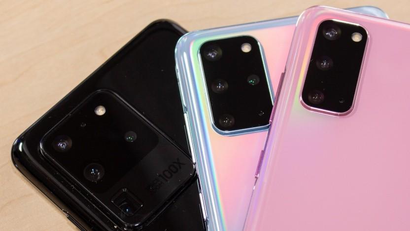 Die Kameras der neuen Samsung-Smartphones