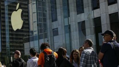Apple Store: Apple muss Angestellten Zeit für Taschenkontrolle bezahlen - Golem.de