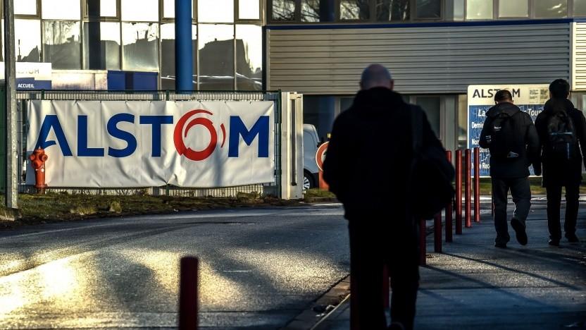 Alstom-Werk in Petite-Forêt in Nordfrankreich: Siemens hat noch Interesse an einer Fusion.