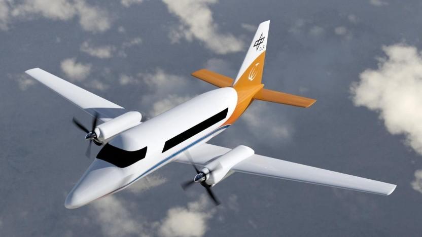Konzeptstudie für ein hybrid-elektrisches Regionalflugzeug