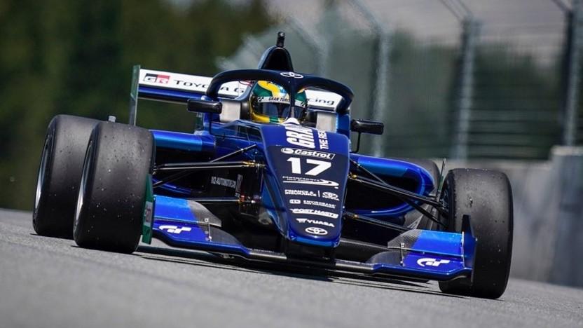 Igor Fraga in seinem FT-60-Rennwagen bei der Toyota Racing Series