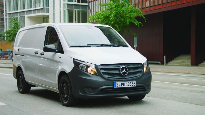 Der Mercedes E-Vito wird als Jahreswagen stärker gefördert.