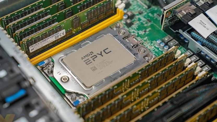 AMDs Epyc laufen jetzt auch in der Google-Cloud.