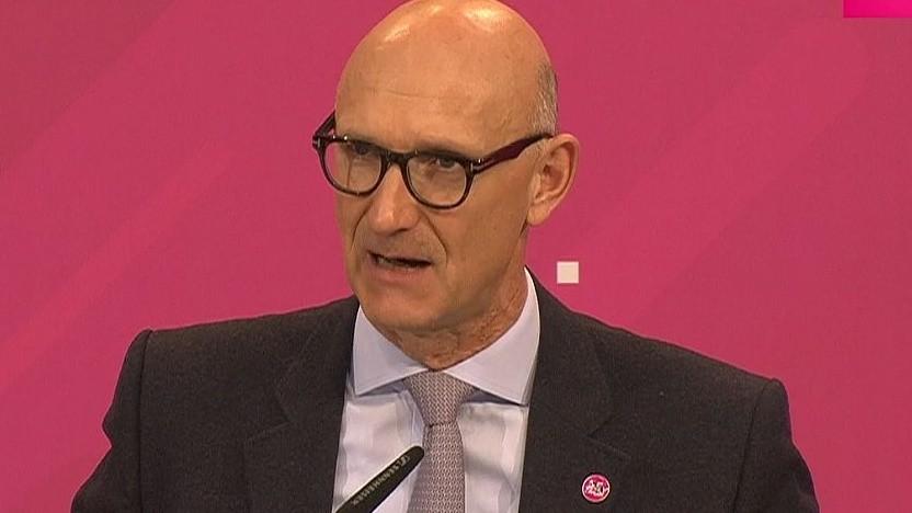 Der Chef der Telekom: Tim Höttges