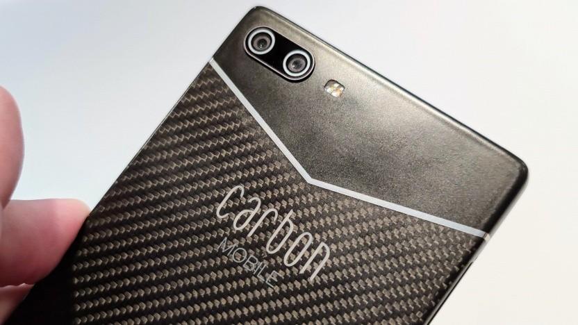 Das Carbon 1 Mk II von Carbon Mobile ist aus Kohlenstofffaser gefertigt.