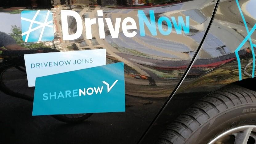Share-Now-Autos können in Tiefgaragen stecken bleiben.