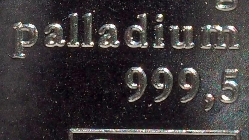Palladium-Barren