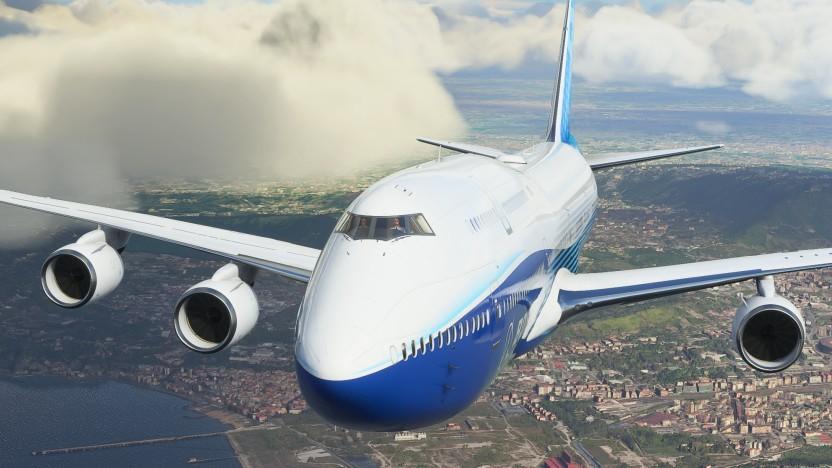 Artwork des Microsoft Flight Simulator