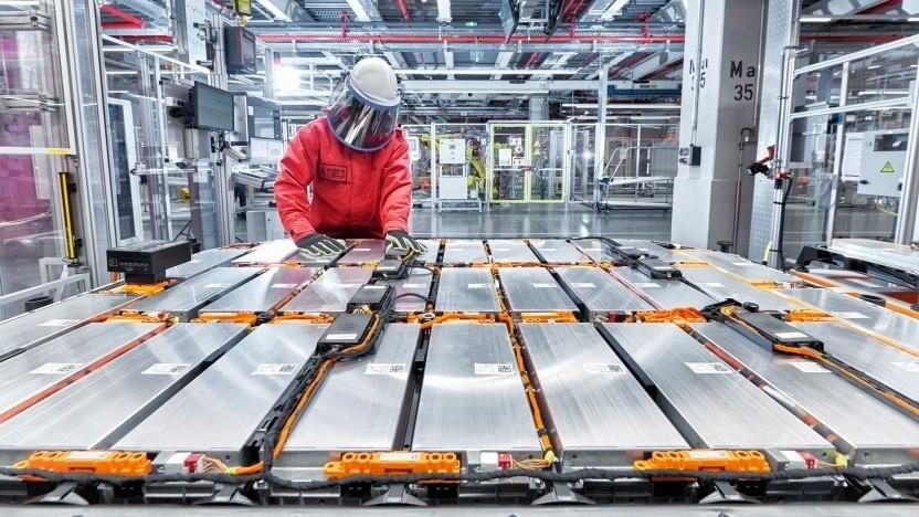 Akkufertigung bei Audi (Symbolbild): Daten zu bestimmten Kriterien, Standards und Schwellenwerten