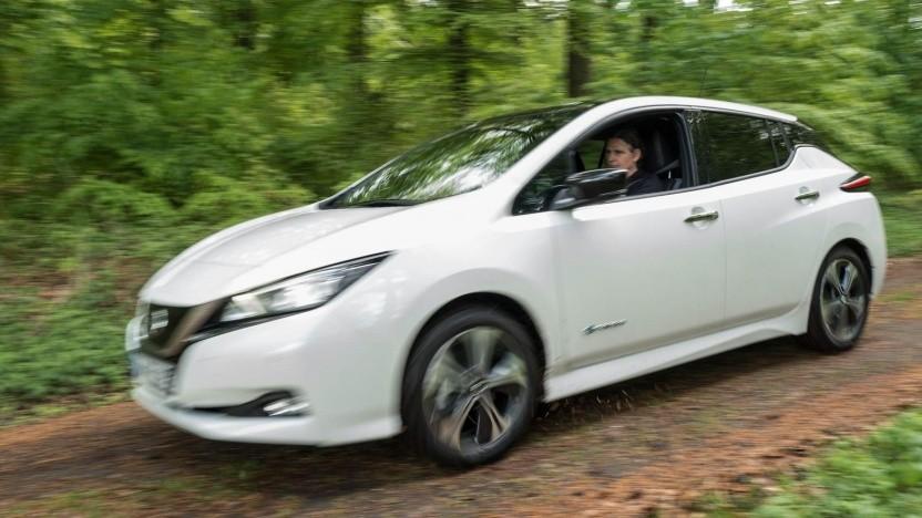 Elektroauto Nissan Leaf: Beim Kauf gibt es eine Eintauschprämie.