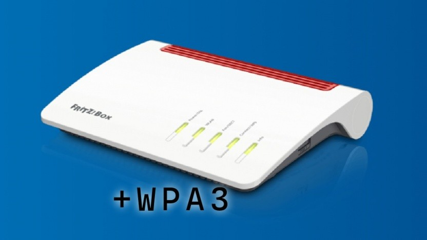 Die Fritzbox 7590 erhält WPA3.