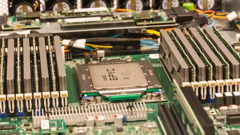 Eines der Gen-X-Systeme mit Epyc 7002