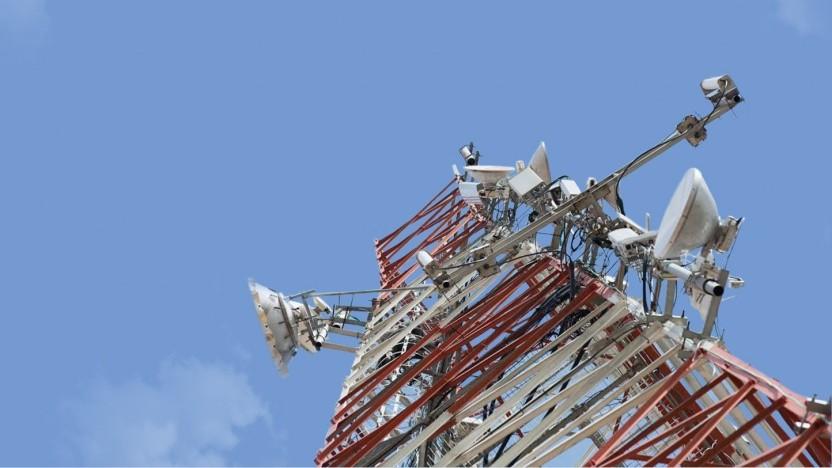 Ein Funkturm der IHS Holding