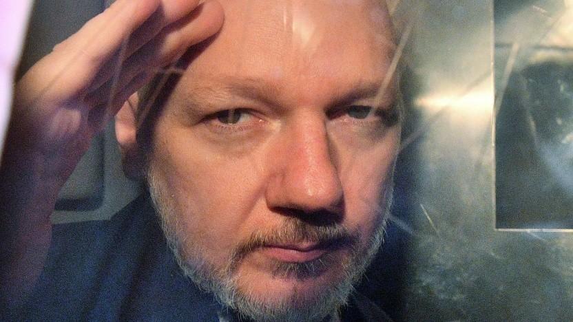 Julian Assange im Mai 2019
