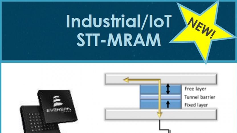 ST-MRAM für die Industrie und das Internet der Dinge