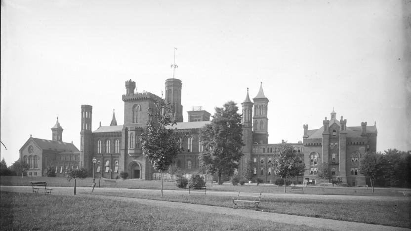 Ein Bild des Smithsonian Institute aus der nun frei verfügbaren Sammlung