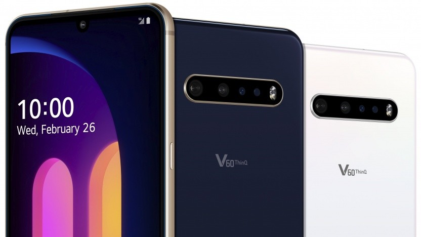 Das V60 Thinq 5G von LG
