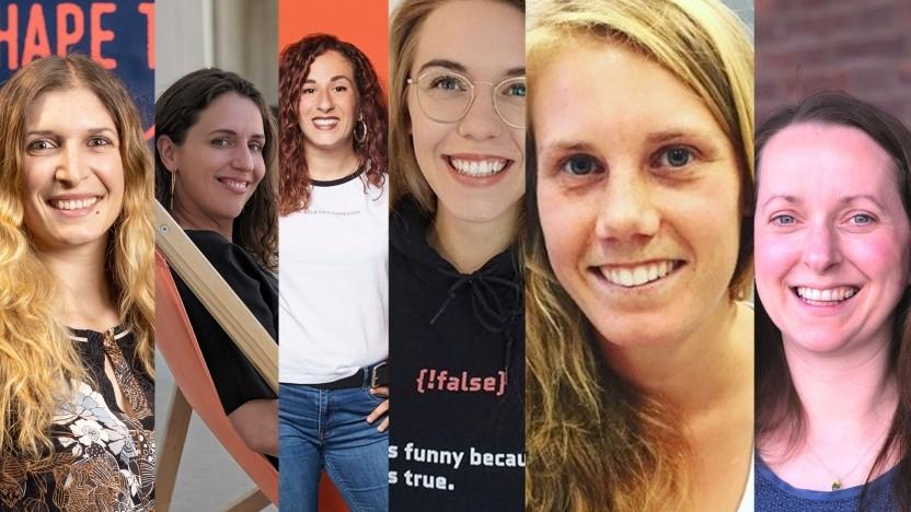 Einige IT-Frauen im Kurz-Porträt
