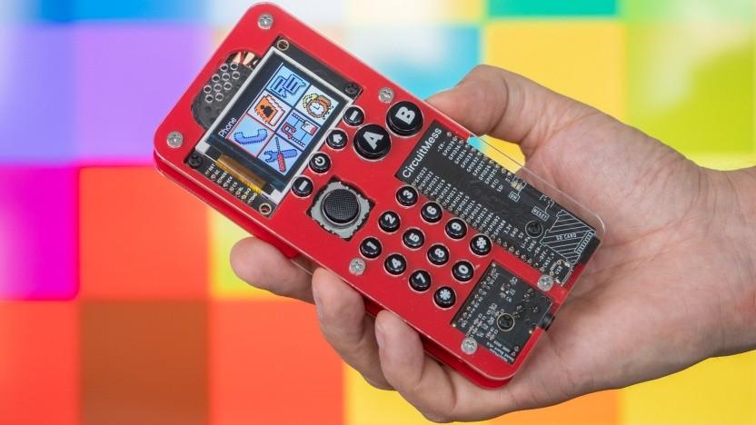 Das zusammengebaute Makerphone