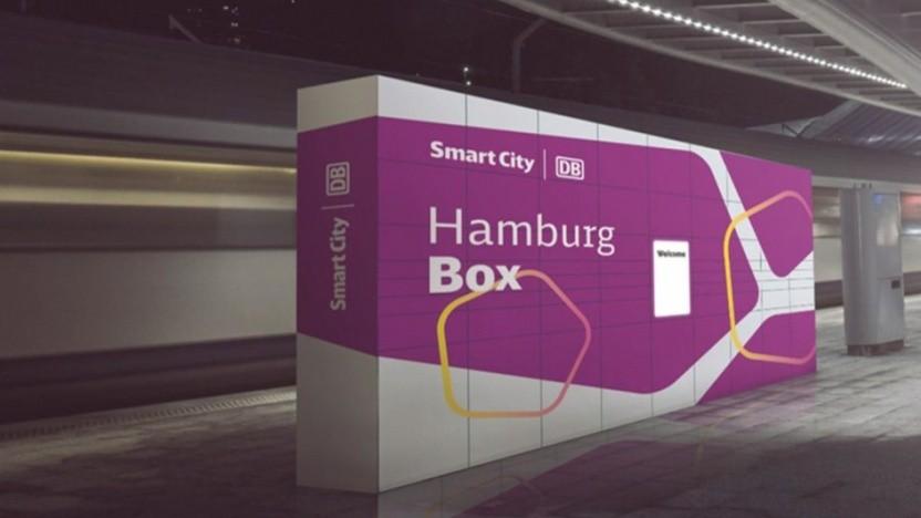 Artwork der Hamburg Box