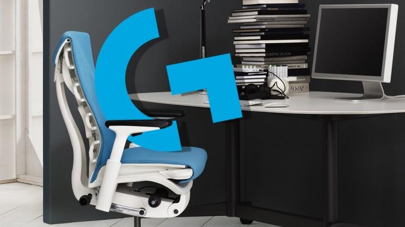 Logitech und Hermanmiller kooperieren für Gaming-Möbel.