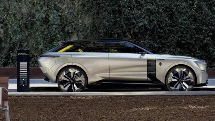 Renault Morphoz im Travel-Modus: größerer Akku, mehr Motorleistung