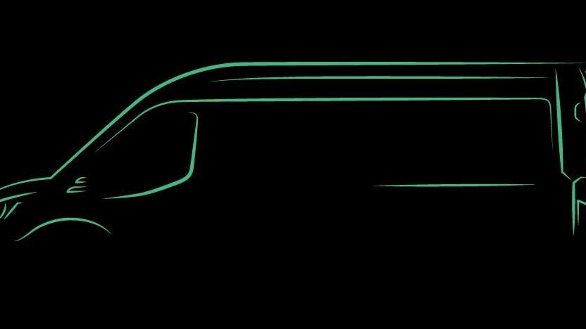 Teaser für den elektrischen Ford Transit