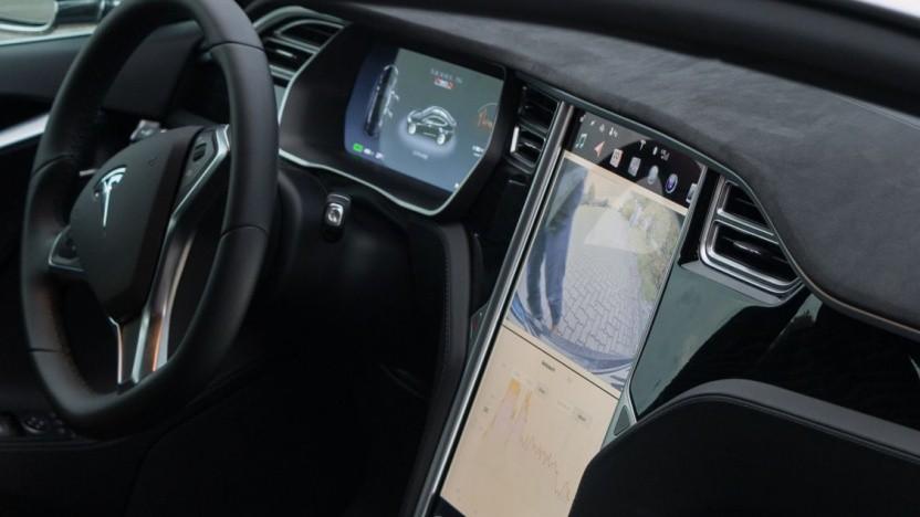 Das Innere des Model S