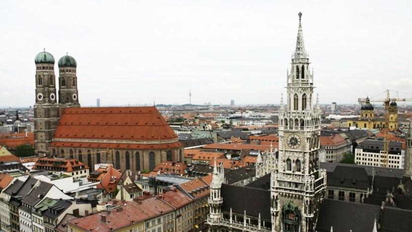 Neues Rathaus und Frauenkirche