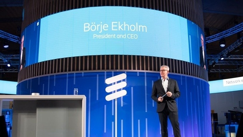 Ericsson-Chef Börje Ekholm auf dem MWC 2019