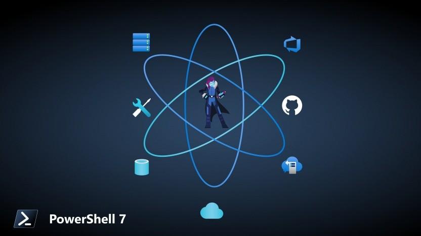 Die Powershell ist in Version 7 erschienen.