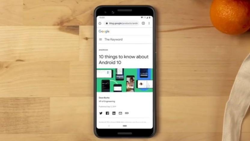 Der Google Assistant kann künftig auch Webseiten vorlesen.