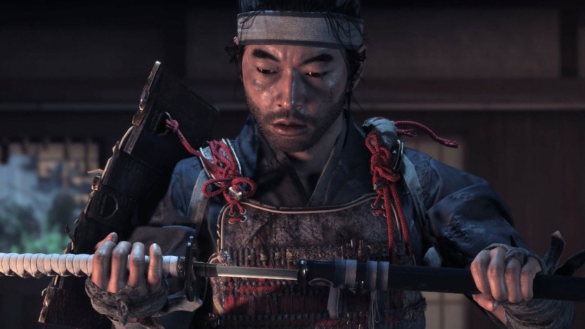 Artwork von Ghost of Tsushima