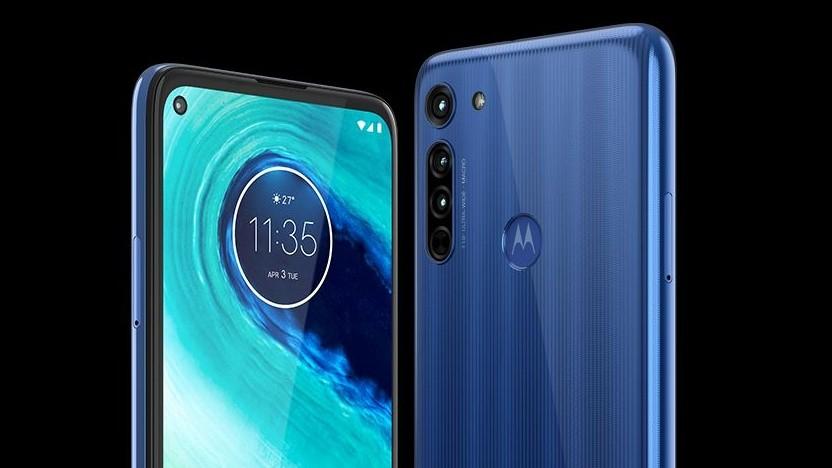 Das Moto G8 von Motorola
