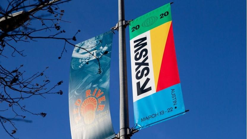 Plakatiert war schon: Das Festival SXSW 2020 fällt aus.