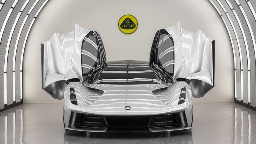 Elektrischer Supersportwagen Lotus Evija: über 320 km/h Höchstgeschwindigkeit