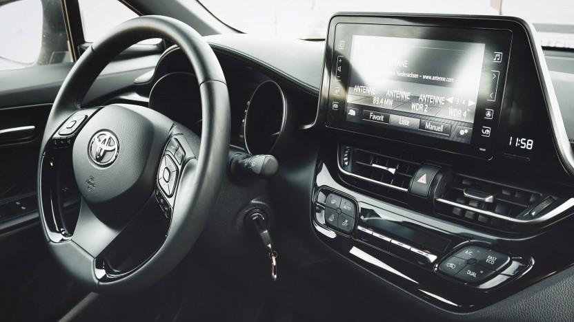 Ob sich die Wegfahrsperre dieses Toyota ohne Schlüssel knacken lässt?