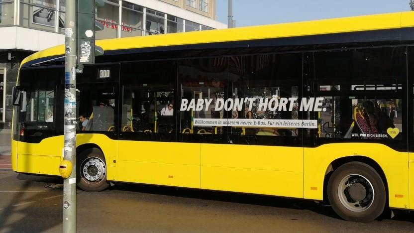 Elektrobus in Berlin
