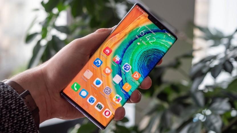 Das Mate 30 Pro von Huawei