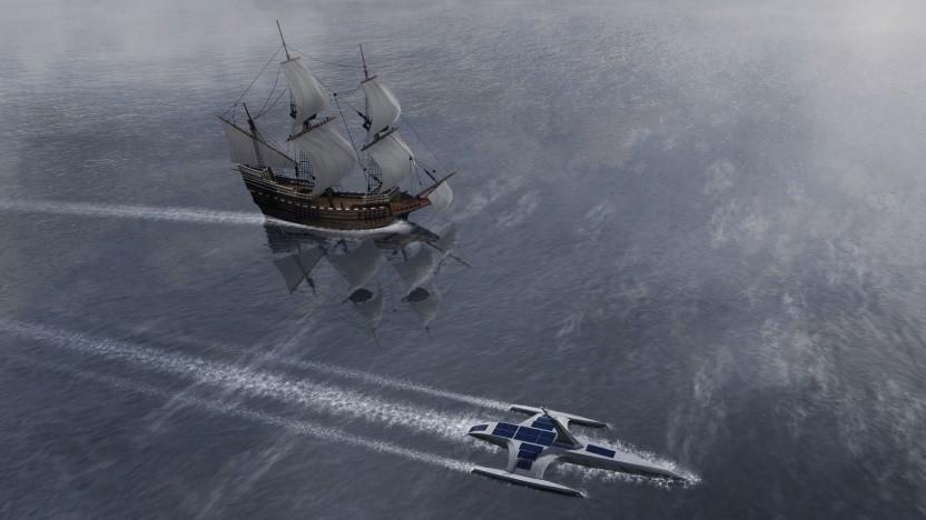 Historische und autonome Mayflower