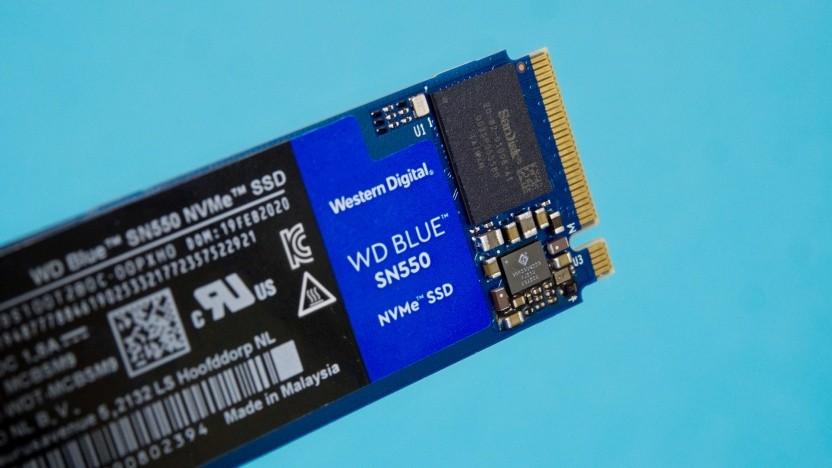 WD Blue SN550 von Western Digital