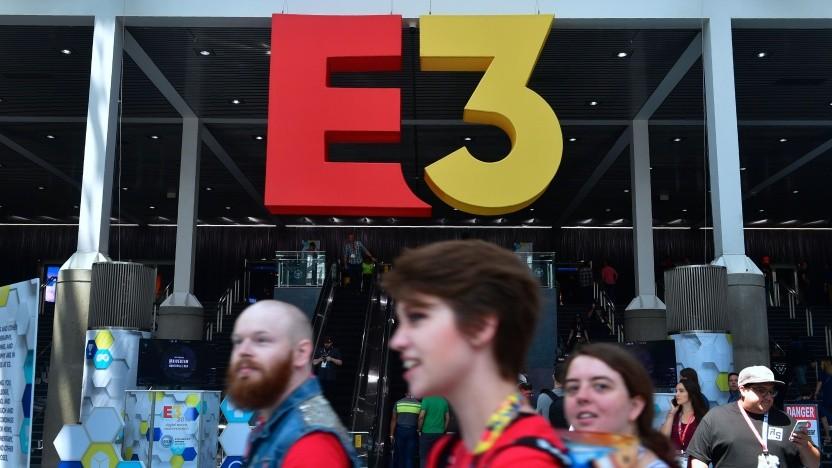 Logo der Spielemesse E3
