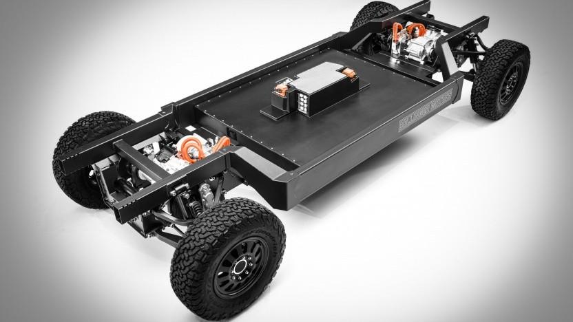 Lkw-Chassis von Bollinger