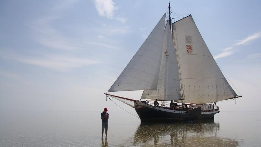 Das Istio-Logo zeigt ein Segelboot. Das Envoy-Proxy in Istio unterstützt nun Wasm.