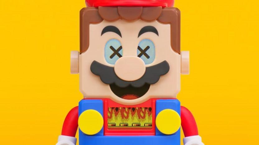 Artwork von Lego Super Mario
