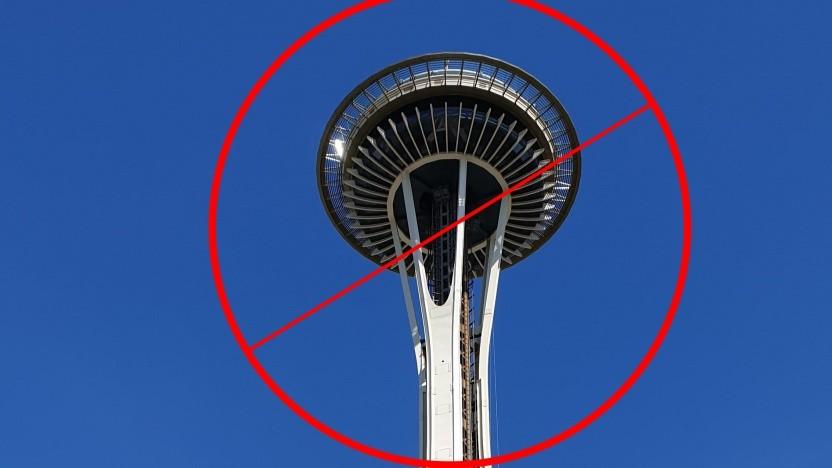 Der Besuch auf der Seattle Space Needle fällt dann wohl aus.